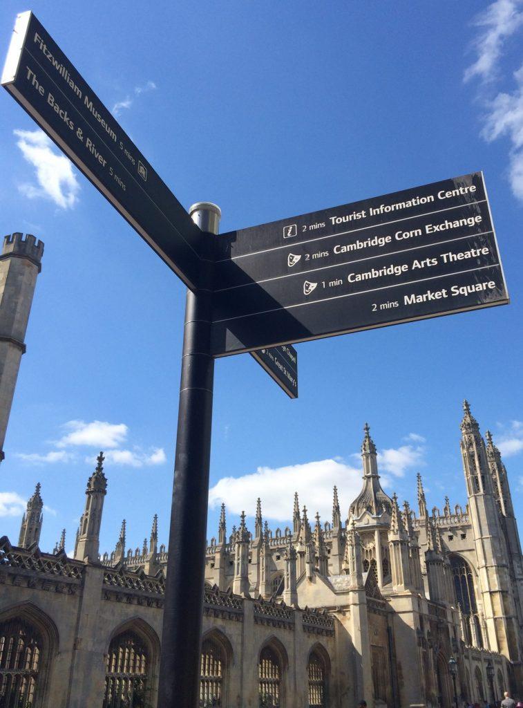 Signpost Cambridge