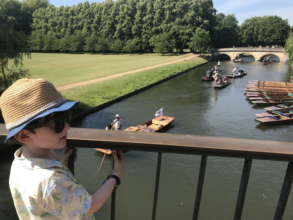 Looking at River Cam