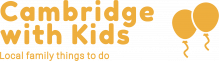 Logo Cambridge with Kids yellow
